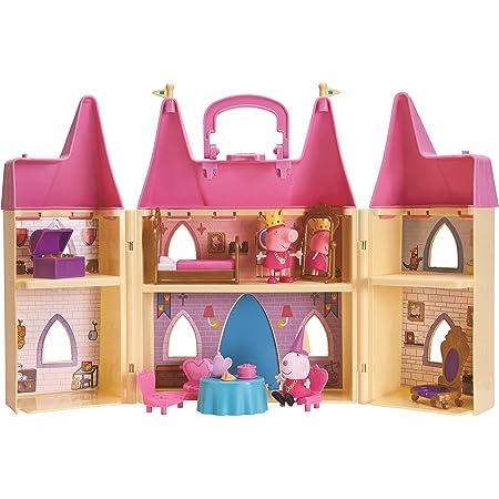 ペッパピッグ プリンセスキャッスル プレイセット 人形付き Peppa Pig Princess Castle Playset with 2 Figures [並行輸入品]