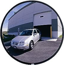 See All NO26 Circular Glass Heavy Duty Outdoor Convex Security Mirror, 26