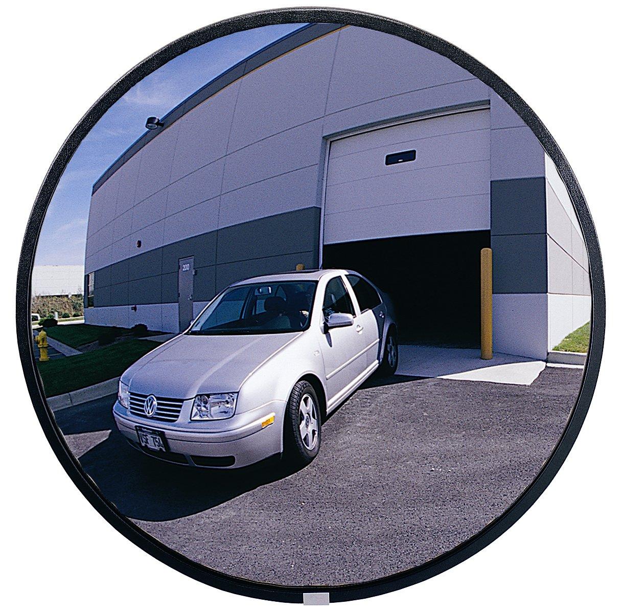 See All PLXO18 Circular Acrylic Heavy Duty Outdoor Convex Security Mirror, 18
