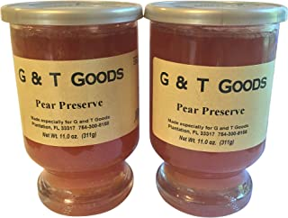 Pear Preserve - 11.oz Reusable Glassware (Pack of 2)