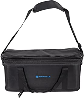Rockville 3U Rack Bag Double-Sided Case with 12