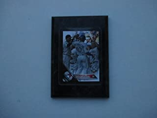 Edwin Encarnacion Toronto Blue Jays Topps 2016 update All Star game player card mounted on a 4