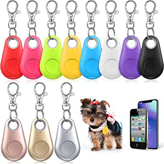 $21 » 11 Pieces Key Finder, GPS Item Locator Bluetooth Smart Tracker Locator Item Finder Anti-Lost Tracking Device with 11 Lobst...