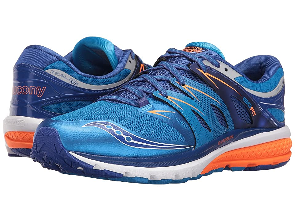 Saucony Zealot ISO 2 (Blue/Orange) Men