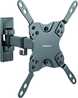 Emerald SM-720-8001 Full Motion TV Wall Mount Bracket For 13-42in TVs LCD LED Plasma Curve Televisions, Universal Mount For Sony, LG, VIZIO, Samsung 24 26 29 36 39 42 even 45 inch tvs - Check The VESA