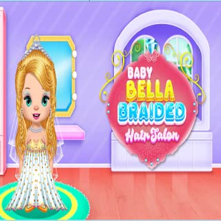 BABY BELLA HAIR SALON - dress up games for girls