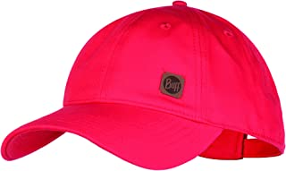 Buff 女式纯色棒球帽,红色,均码