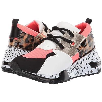 Steve Madden Cliff Sneaker (Coral) Women