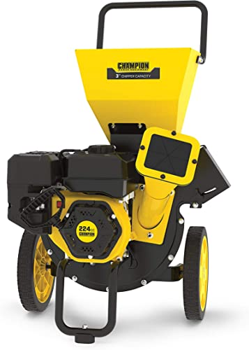 high quality Champion high quality Power Equipment 200905 3-Inch Portable wholesale Chipper-Shredder with Collection Bag sale