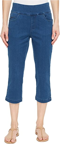 D-Lux Denim Pull-On Capris in Denim