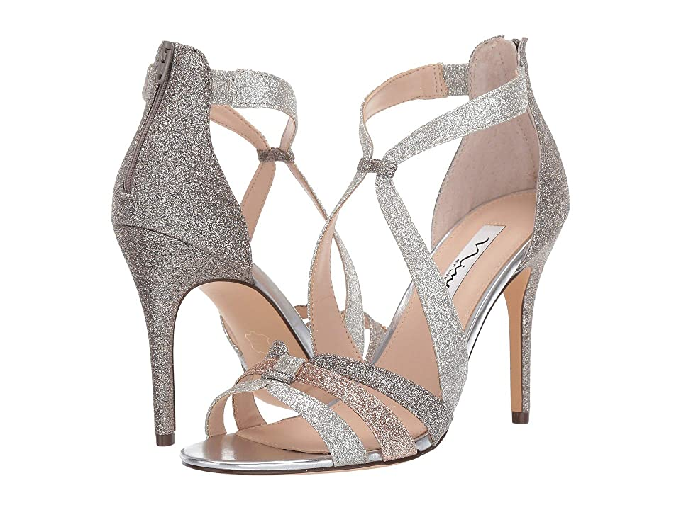 Nina Casey (White Diamond Baby Glitter) High Heels