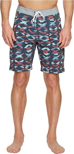 VISSLA - Crossing Washed Four-Way Stretch Boardshorts 20