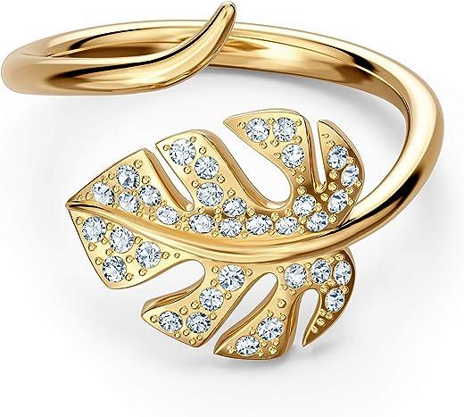 Swarovski orecchini bella v, grigio, placcato oro rosa 5535563