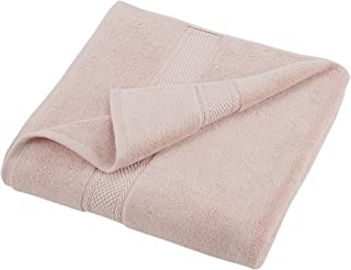 GRAND PATRICIAN SUITES BATH TOWEL - Densely Woven 3 ply Loop Yarn, 100% Cotton, Thick, Plush, Ultra Absorbent - Luxury, Hotel, Bathroom - Machine Washable - Pale Dogwood Pink