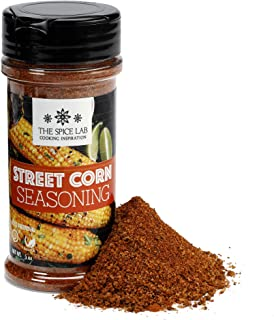 The Spice Lab Mexican Street Corn Seasoning - 5 oz Shaker Jar - Excellent Mexican Spice Blend for Roasted Corn