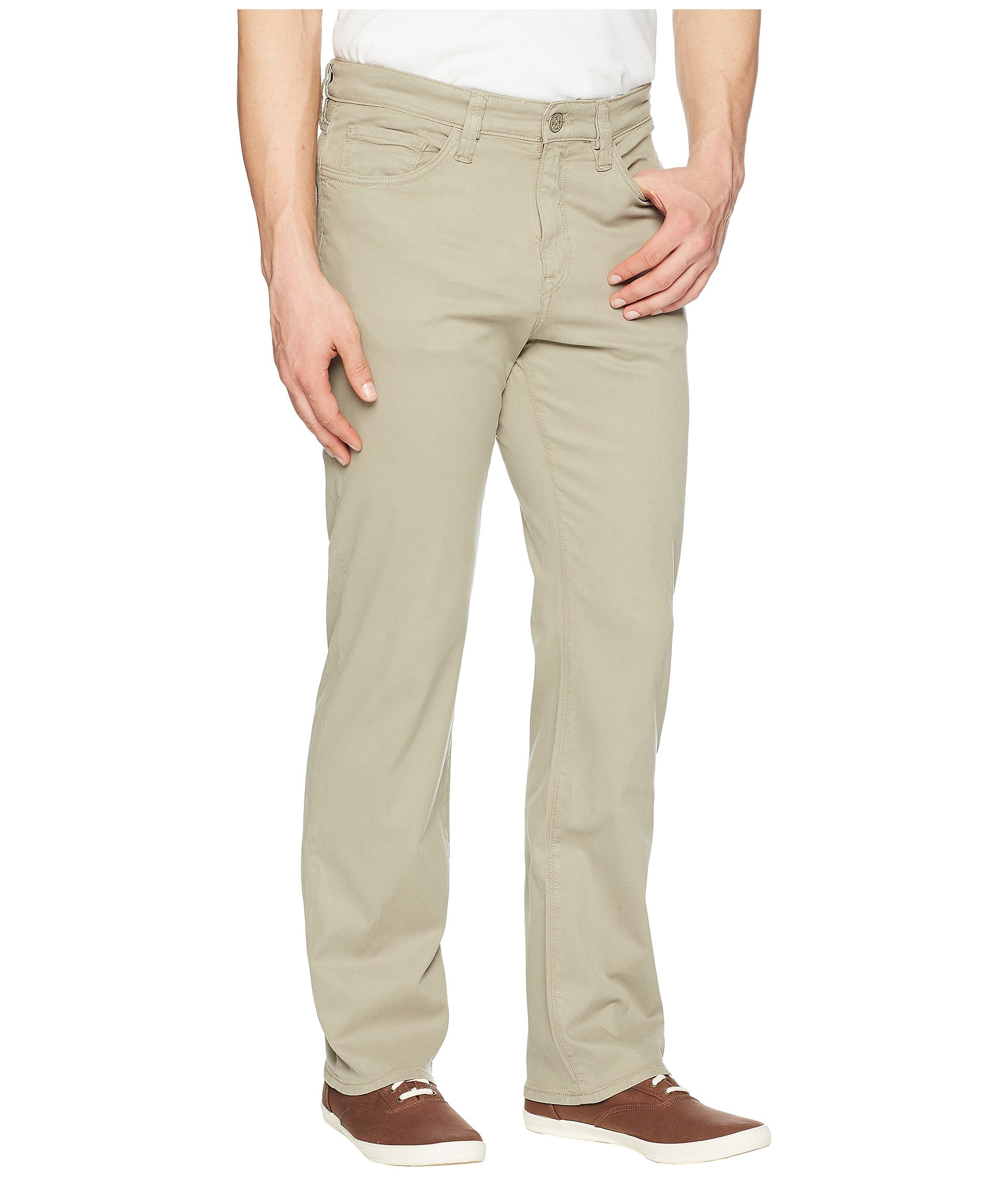 Twill Charisma Khaki Fine Heritage 34 Fit In Relaxed AFn04qwT