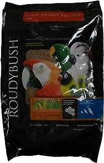 RoudyBush High Energy Breeder Bird Food, Small, 25-Pound