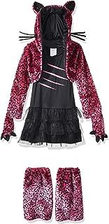 Costume Culture Bad Kitty Girl's Costume, Pink, Medium
