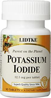 Lidtke Technologies Potassium Iodide Tablets, 90 Count