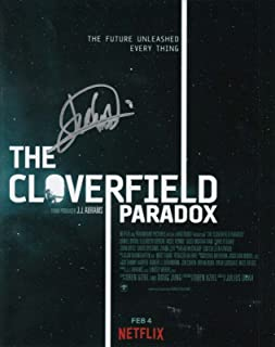 JULIUS ONAH signed (THE CLOVERFIELD PARADOX) MOVIE 8X10 poster photo W/COA