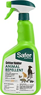 Safer Brand 5935 Critter Ridder Animal Repellent Ready-to-Use Spray-32 oz RTU