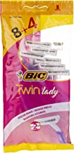 BiC Razor Twin Lady Pouch for Women - Pack of 12