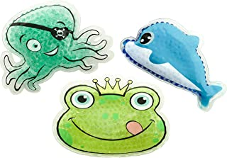 Selldorado® Lot de 3 compresses chaudes et froides de qualité supérieure pour enfant - Pour une utilisation au chaud ou à ...