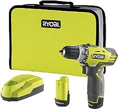 Ryobi 5133001158 Taladro Atornillador de 12V (2X1.3AH), 12 V, Negro, Amarillo