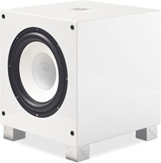 REL Acoustics T/9i Subwoofer, 10 inch Front-Firing Driver, Arrow Wireless Port, High Gloss White