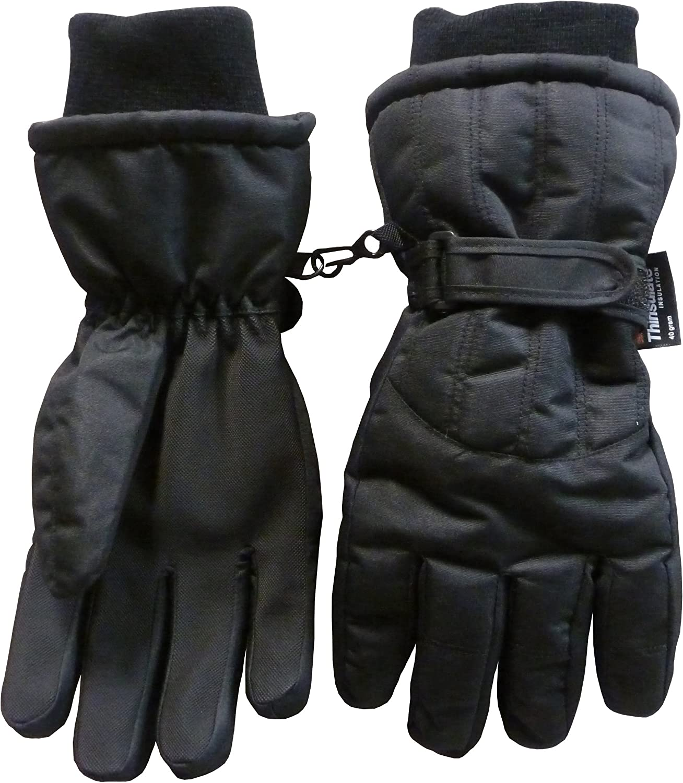N'Ice Caps Women's and Men's Winter Warm Waterproof Thinsulate Snow Ski Gloves