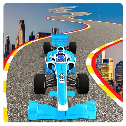 Formula Top Speed Racing Stunts on Bendy Mega Ramp 2