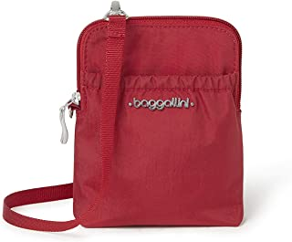 Baggallini Luggage Bryant Pouch, Apple