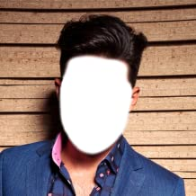 Man Hair Style Photo Montage