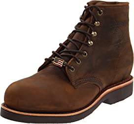 """6"""" Apache Steel Toe Lace Up"""