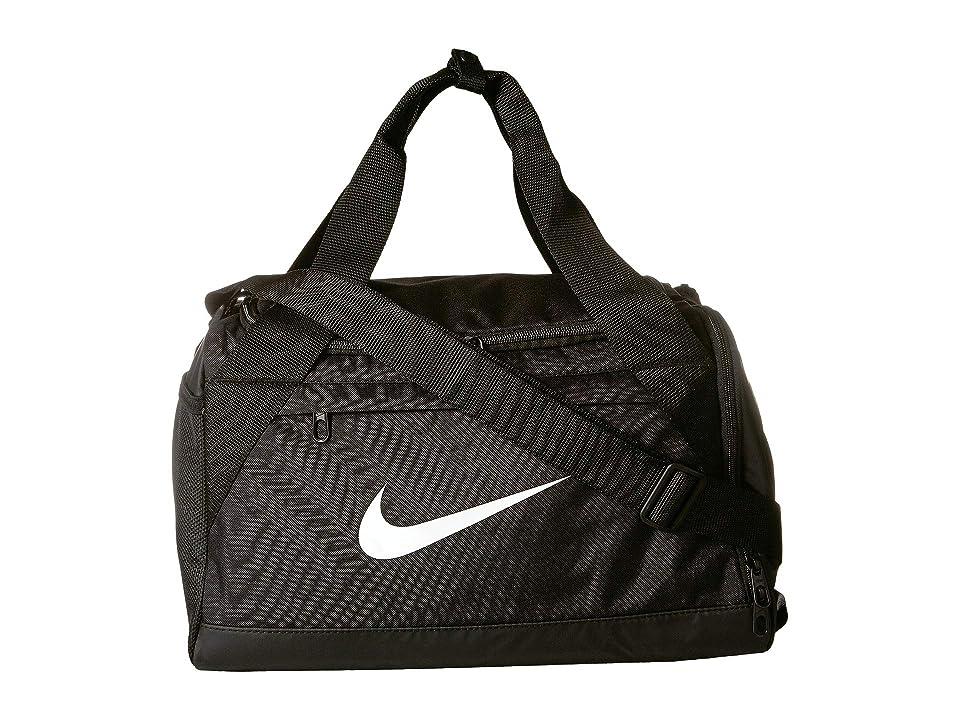 2ee61b68aebf Nike Brasilia Extra Small Training Duffel Bag (Black Black White) Duffel  Bags
