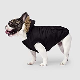 Canada Pooch | North Pole Dog Parka | Water-Resistant Insulated Dog Jacket (26, Black)