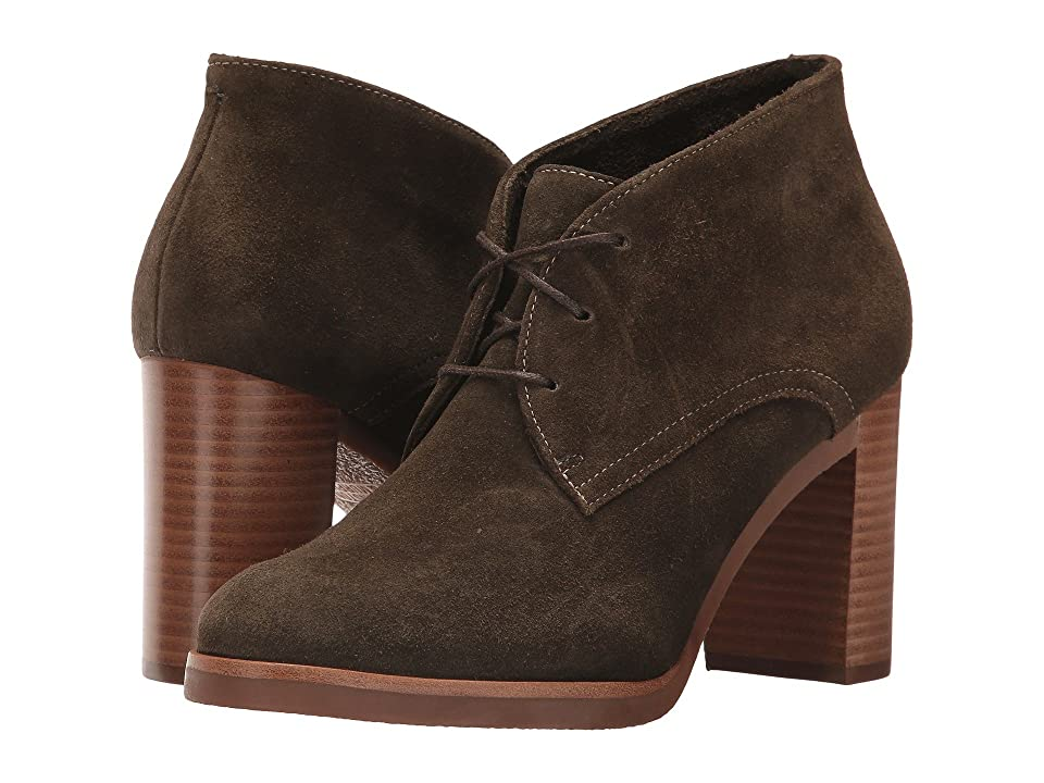 Johnston & Murphy Alayna (Forest Brown Suede) Women