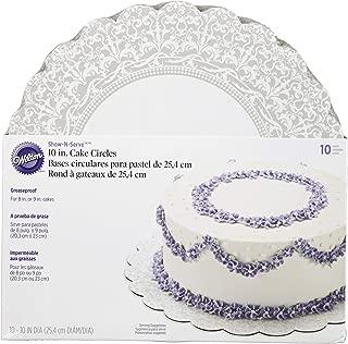 Wilton 10-Inch Show 'N Serve Cake Board, 10/Pack