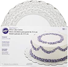 Wilton 10-Inch Show 'N Serve Cake Board, 10/Pack