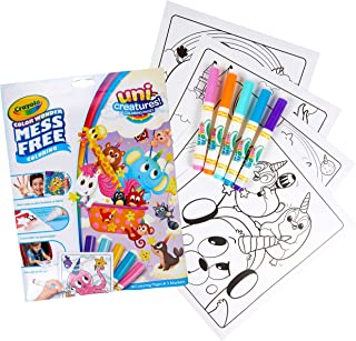 Crayola Color Wonder Unicreatures Specialty Markers and Paper, Multi