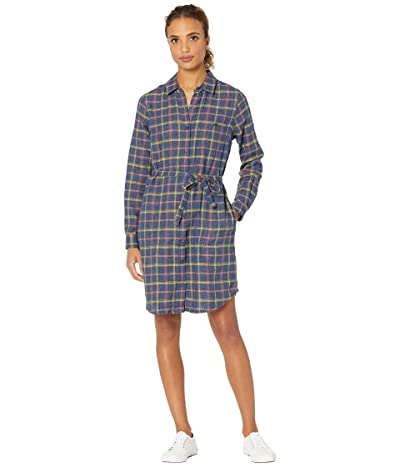 Toad&Co Re-Form Flannel Shirtdress (Big Sky) Women