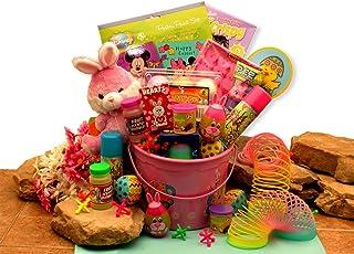 Easter Basket Just for Girls Little Pink Easter Basket Gift Pail