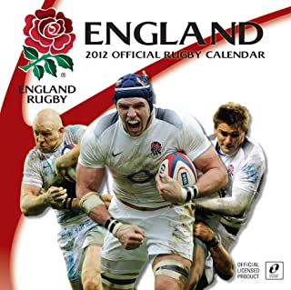 Official England Rugby Union Calendar 2012