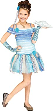 Fun World Mermaid Costume, Small 4 - 6, Blue