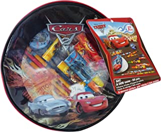 Cars Backpack Filled with Colouring Set (20 Pieces)