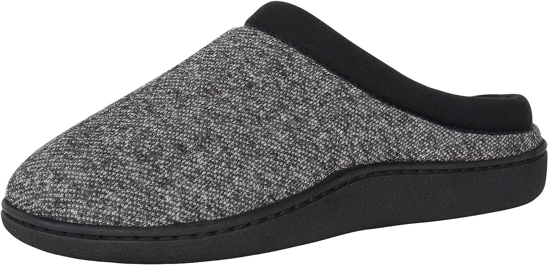 Hanes Comfort Soft Memory Foam Indoor Outdoor Clog Slipper Shoe - Men's and Boy's