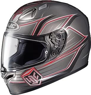 HJC FG-17 Banshee Full-Face Motorcycle Helmet (MC-5, XXX-Large)