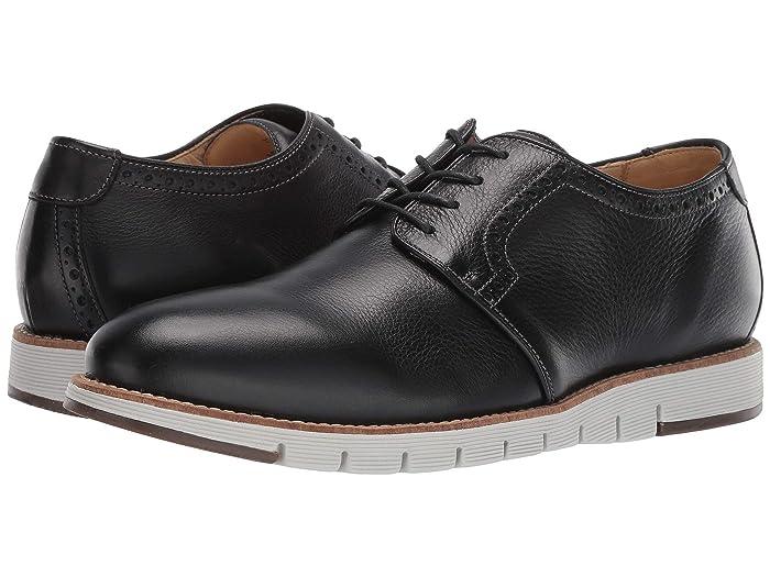 JandM EST. 1850  Martell Plain Toe (Black) Mens Shoes