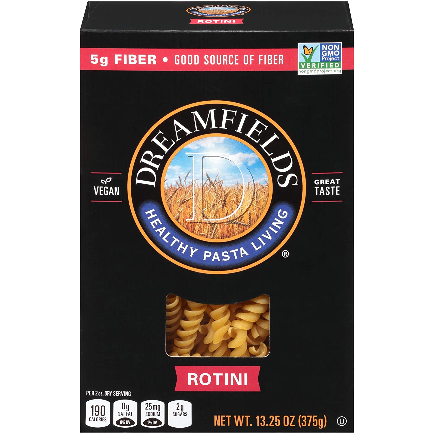 Dreamfields Pasta Healthy Finally resale start Carb 13.25Ounce Boxes Under blast sales Living Rotini