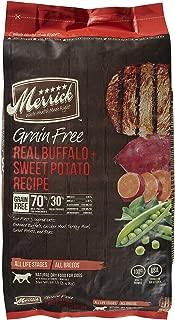 Merrick Grain Free Real Buffalo and Sweet Potato Dry Dog Food Size: 12-lb Bag